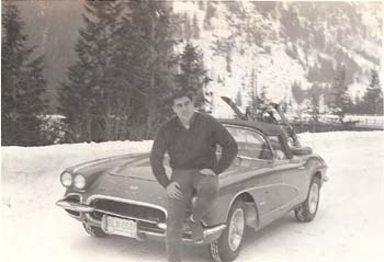 Frank and his '61 Corvette