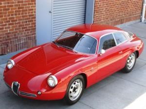 1962 Zagato Alfa Romeo Giulietta Sprint