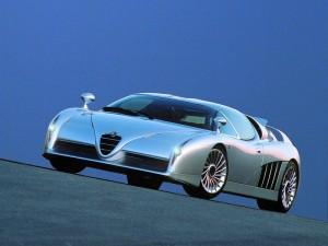 1997 Italdesign Scighera Concept based around Alfa Romeo's 164 had twin turbo V6 power and four wheel drive