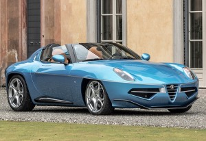 2016 Alfa Romeo Disco Volante Spyder Carrozzeria Touring; top car design rating and specifications
