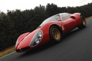 Alfa Romeo's 33 Stradale is a stunner from any angle