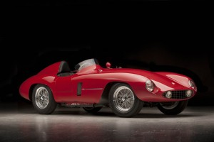 Ferrari's 750 Monza sports racer made its debut in 1954