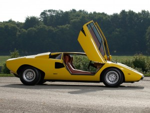 First shown in 1971, Bertone's Lamborghini Countach left pundits speechless