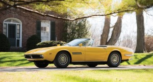 Maserati Ghibli Spider from 1969