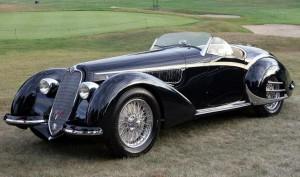 Touring's 1937 Alfa Romeo 8C 2900B Spider